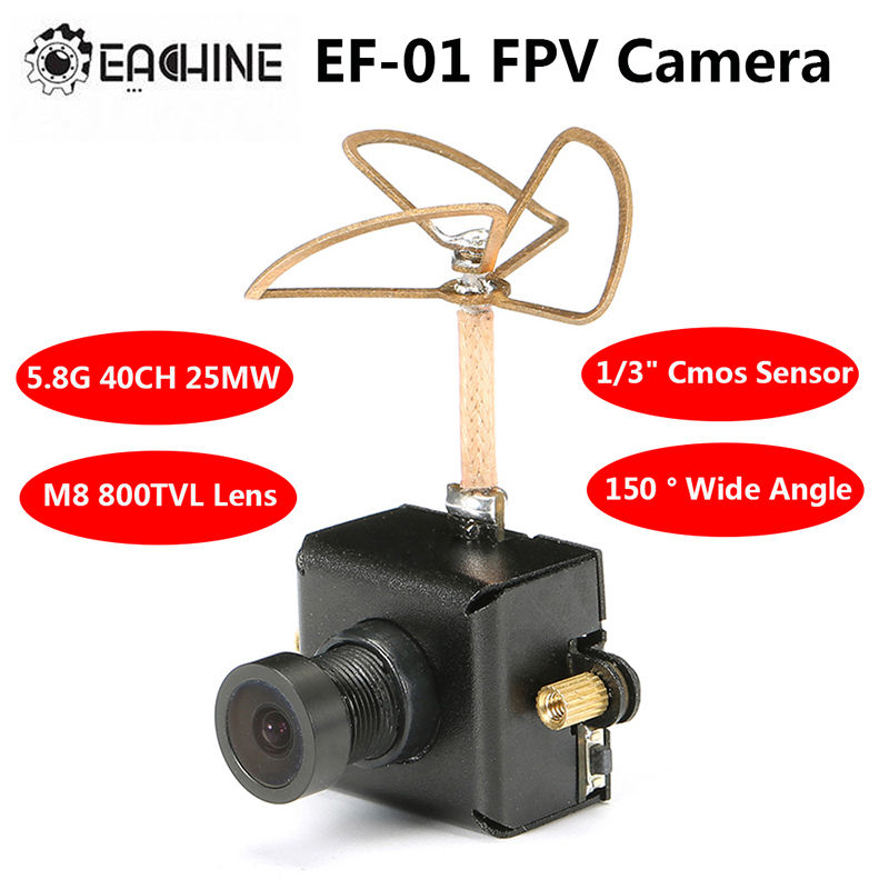 Free shipping! Eachine 5.8G Transmitter 40CH 25MW VTX 800TVL 1/3 Cmos FPV Camera With Antenna<br><br>Aliexpress