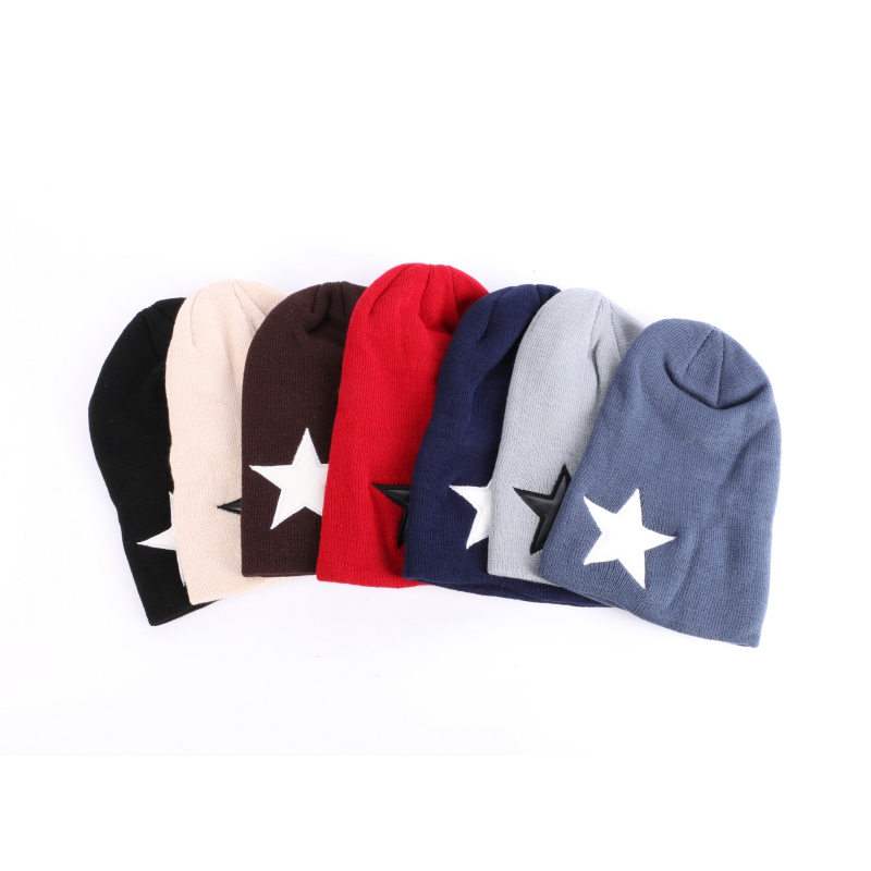 Multicolor Unisex Women Men Knit Baggy Beanie Hat Winter Warm Oversized Ski Cap X16Îäåæäà è àêñåññóàðû<br><br><br>Aliexpress