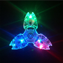 Buy LED Fidget Spinner Crystal Flash Hand Spinner Stress Reliever LED Hand Spinner Autism ADHD EDC Anti Stress Toys Fidget Spiner for $2.84 in AliExpress store