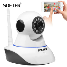 SDETER 720P CCTV Camera HD IP Camera WI-FI Wireless Home Security Camera Plug And Play PTZ P2P Night Version Indoor Camera Wifi