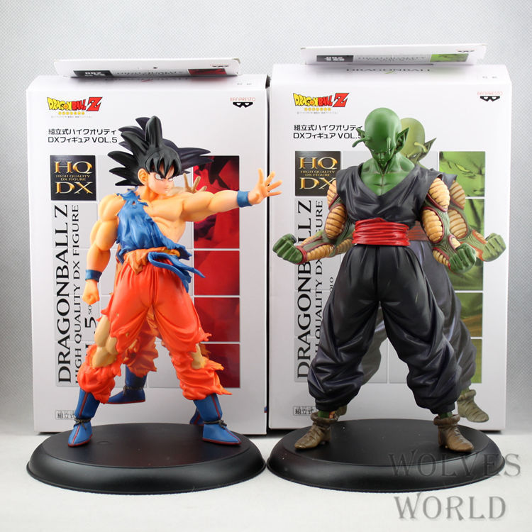2 Pcs/Set Classic Japanese Anime Dragon Ball Z Goku Piccolo PVC Action Figure 20 CM Collection Model Toys For Kids Boys Gift Hot<br><br>Aliexpress