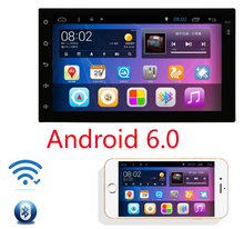 Two Din 7 Inch Android 6.0 Car DVD Multimedia Player For Nissan/TIIDA/QASHQAI/X-TRAIL/SUNNY/PATROL Wifi GPS Navigation Radio(China)