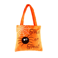 Hot Sale Halloween Novelty Gags Practical Jokes Candy Bag for Kids Non-woven Bag Fabric Backpack Child Travel School Bag Gifts(China)