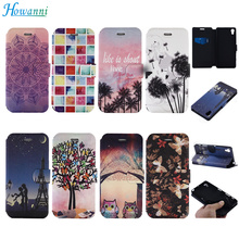 "Buy Luxury Leather Case Fundas Sony Xperia X Case 5.0"" Flip Painted Wallet Stand Cover Coque Sony X Cover Phone Bag Capa for $4.98 in AliExpress store"