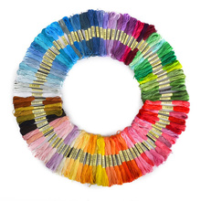 100 pieces Similar DMC color cross threads / cross stitch / cross stitch embroidery thread / Custom DMC threads colors(China)