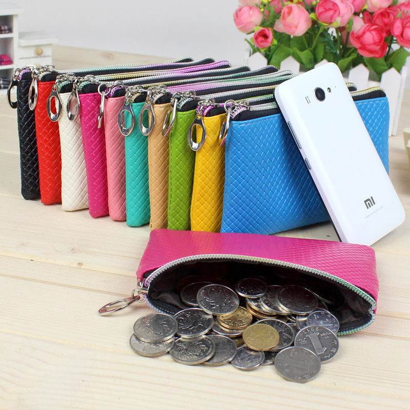 Lady Mini Leather Handbag Fashion Mobile Phone Bag Girls Small Mini Coin Bag Coin Purse Change Wallet Purse Women Key Wallet<br><br>Aliexpress