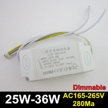 3pcs 8W 10W 12W 15W 18W 20W 24W 36W LED External dimmable driver, LED transformer, Power supply for bulb ceiling light,spotlight