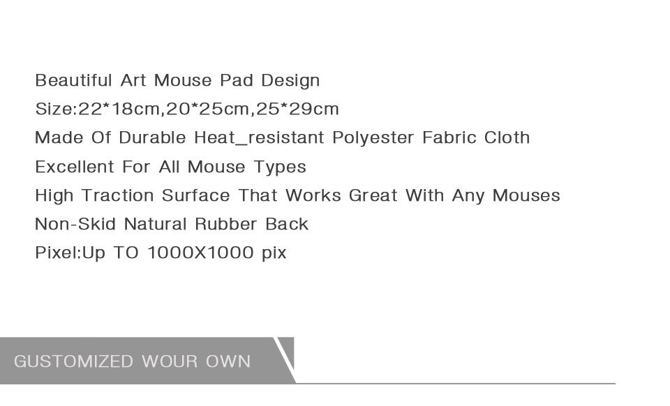 MaiYaCa NEW Customized Supported Fashion Design Cool Persian Rugs Mouse Mats Anti-Slip Rectangle Mouse Pad 250X290 MM 13