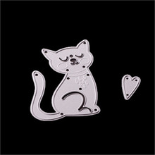 cutting dies for scrapbooking Dog Cat flowers frame 3d New Metal Stencil embossing folder for paper card 2017 Fashion