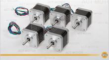 Free Ship From Germany! ACT 5PCS Nema17 Stepper Motor 17HS5413 2Phase 73oz-in 48mm 1.2A CE ROSH ISO
