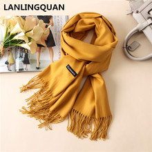 scarf luxury brand Desigual Cashmere bandana 2017 Fashion Women Warm scarves Scarfs Autumn Winter shawl Cashmere Pashmina(China)