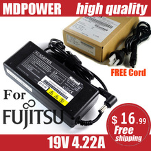 MDPOWER For Fujitsu FMV Lifebook SH561 ST5112 T4220B U810 laptop power supply power AC adapter charger cord 19V 4.22A 80W(China)