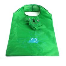 CONEED Cartoon Frog Folding Shopping Bags Storage Bags Oversize Portable for Buy Green Drop Shipping Happy Sale ap703