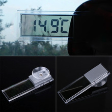 Osculum Type Auto LCD Display Vehicle-mounted Digital Thermometer Celsius Fahrenheit Car Thermometer