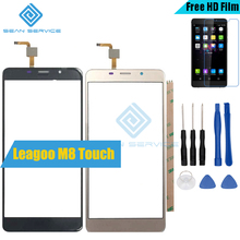 For 100% Original Leagoo M8 Touch Panel Perfect Repair Parts +Tools M8  1280*720P 5.7 Inch Glass Panel Touch Screen Digitizer