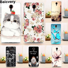 New Hot Fashion Soft Silicon TPU Back Case for General Mobile 4G 5.0 inch Flower Butterfly Cover Top Quality