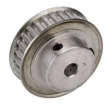 Practical Timing Belt Pulley XL Type Aluminum 30 Teeth 8mm Stepper Motor Automotive Textile