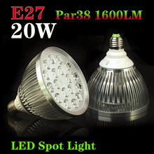 Innovative items! 1pcs E27 Par38  20W 18LEDS 110V/220V Led Bulb Lamp Light Spotlight For Home Free shipping