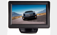 4.3 Inch Car Stand-Alone Bus Truck TFT LCD Monitor Super Thin Retail/Pc Free Shipping