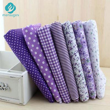 half meter Width 150cm Purple 100% Cotton Sewing Fabric Material Tissu to Patchwork Sewing Telas Tilda Doll Cloth