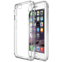 Clear Cushion For Protective Coques iPhone 6 Case Shock-Absorbing Cases Hard Back Panel For fundas cubiertas iphone 6 plus apple