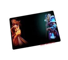 Dota 2 mouse pad cute Speed face game pad to mouse notebook computer mouse mat brand gaming mousepad gamer laptop jogos(China)