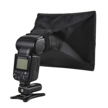 100% Band New High Quality 20*30cm General Foldable Soft Box Flash Diffuser for Canon Nikon Sony Minolta High Quality