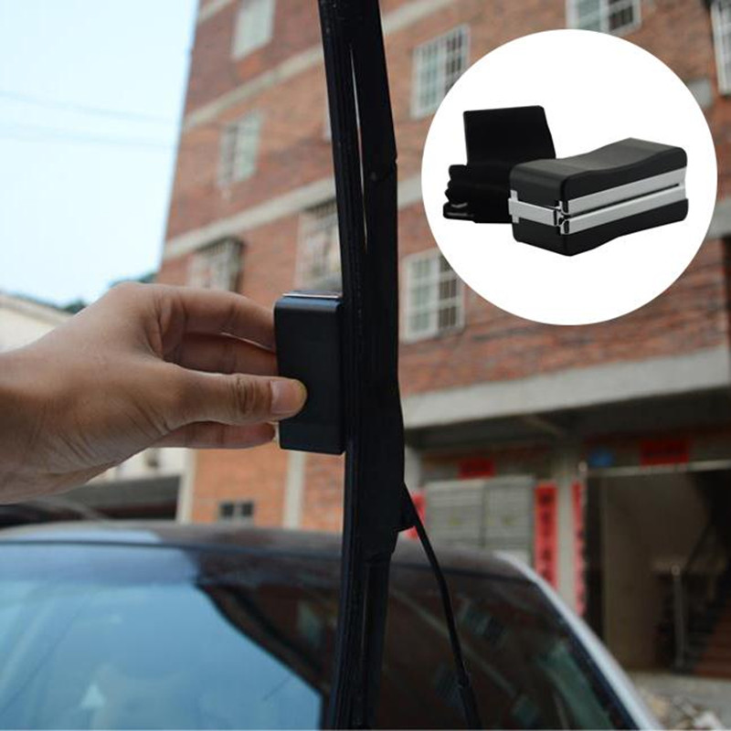 Universal Auto Car Vehicle Windshield Wiper Blade Refurbish Repair Tool Restorer Windshield Scratch Repair Kit Cleaner(China)