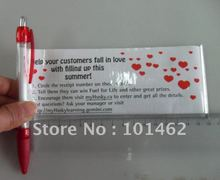 CH6120 promotional banner pen, accept client logo printing ON both side of paper banner !!(China)
