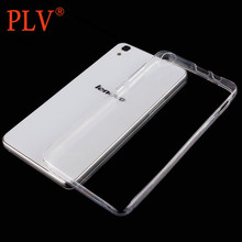 Silicone Clear Transparent Crystal TPU Soft Phone Cover Case Shell For Lenovo A8 A806 S90 S60 K3 Note A536 P1 S850 Case(China)