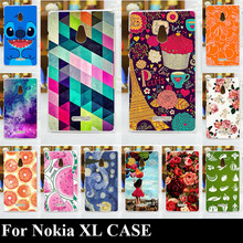 For Nokia XL Hard Plastic Mobile Phone Cover Case DIY Color Paitn Cellphone Bag Shell Free Shipping