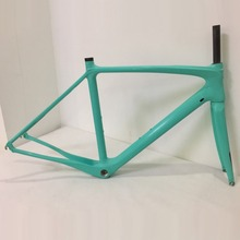 2017 Newest Full Carbon Fiber Road Bike Frame High Quality UD Glossy Weave Carbon Bike Frame Racing Bicycle Frameset Size 50cm