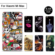 3D Print TPU Soft Cases for Coque Xiaomi Mi Max Cases luxury Mobile Phone Back Cover Silicon Phone Case for Xiaomi Mi Max Cases(China)