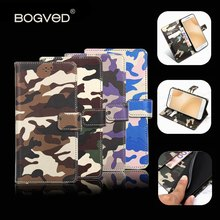 Brand BOGVED For ZTE Blade V7 Lite Case 5.0 inch Flip Wallet Leather Cover For ZTE Blade V7 Lite Stand Function Three Card Hol(China)