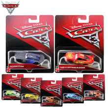 20 Style Disney Pixar Cars 3 Alloy Car Model Lightning McQueen Speed Challenge Black Storm Jackson Car Toy DXV29 Children Gift