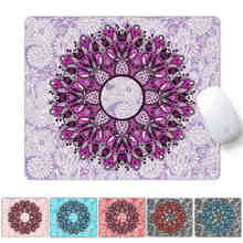 OEM Game Mouse Pad 240*200MM Soft Rubber Mandala Image Comfort Gaming Mat Mice Pad Computer Laptop MousePad(China)