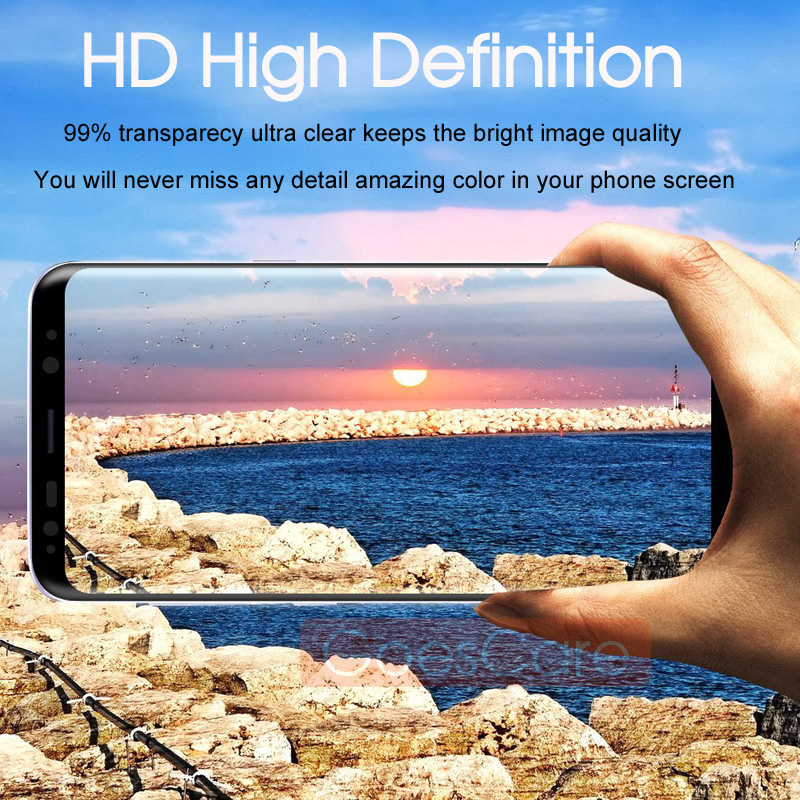 5D Full Curved Tempered Glass For Samsung Galaxy S8 S9 Plus Screen Protector For Samsung A6 A8 2018 Note 8 9 S7 Protective Film