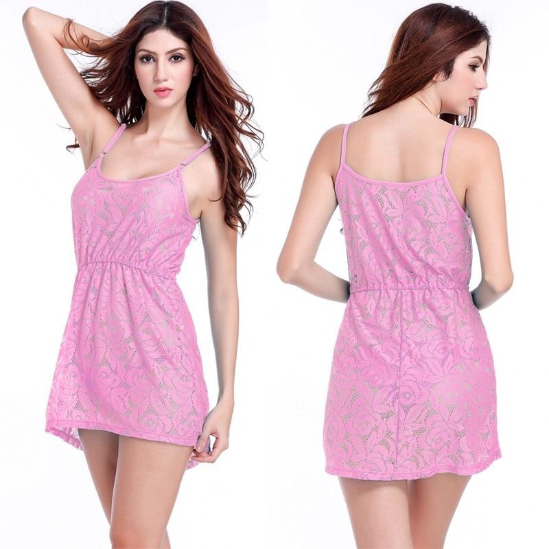 17 Adjustable Spaghetti Dress Tunic for Beach Slim Fit Waist Wrinkle Cover-Ups Sexy Women Plus Size Lace Tunic Beach Dress 5