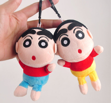 Anime Crayon Shin-Chan Nano Doll Plush Toy Pendant Anime Figure Baby Toy Creative Gift For Girlfriend