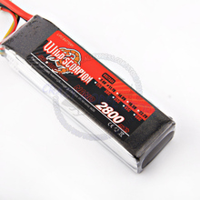 Wild Scorpion Li-PO 11.1V 2800MAH 30C high quality battery for rc heli cars truck R/C model toy(China)