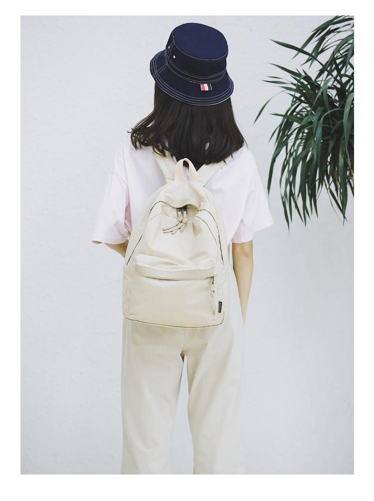 Menghuo High Quality Women Canvas Backpack Teenage Girls Leisure Backpack Bag Vintage Stylish Female School Bag Bookbag Mochilas (27)
