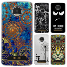 Phone case For Motorola Moto Z Play/Moto Z Play Droid/XT1635/MOTO Z Force 5.5-inch Cute Cartoon Painted TPU Soft Case