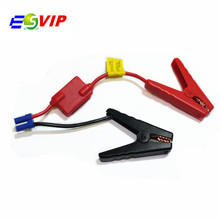 50pcs/ DHL free Emergency Lead Cable Battery Alligator Clamps Clip For Car Trucks Jump Starter Charging Starting System Battery(China)