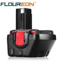 FLOUREON 12V 3000mAh Ni-Mh Rechargeable Battery for Bosch GSB 18 VE-2 GDS 18 V-HT GSR 18 VE-2 PSB 18VE PSR 18VE(China)