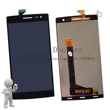5.5'' Full LCD DIsplay + Touch Screen Digitizer Assembly Replacement For OPPO Find 7 X9076 X9077 ; Black ; New ; Free shipping