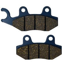 For ROYAL ENFIELD Bullet Classic Chrome 500 EFI Single Seat 09-15 Electra 500 EFI Dual Seat 09-12 Motocycle Brake Pads Front(China)