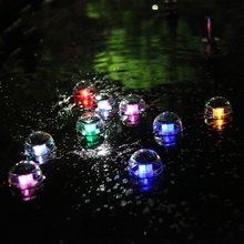 Solar Powered LED Night Light Floating Pool Lamp for Garden Yard and Party Decor Indoor Outdoor Waterproof Pond Path Landscape