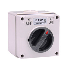 Waterproof Rotary Switches Industrial Isolator Switch AC 250V 10A 16A 20A 32A 40A 50A 63A IP66 1 2 3 Poles 56SW HT667-680