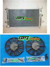 for OPEL ASTRA G MK4 Z20LET GSI SRI TURBO HIGH FLOW RACE RADIATOR RAD 42mm + fans