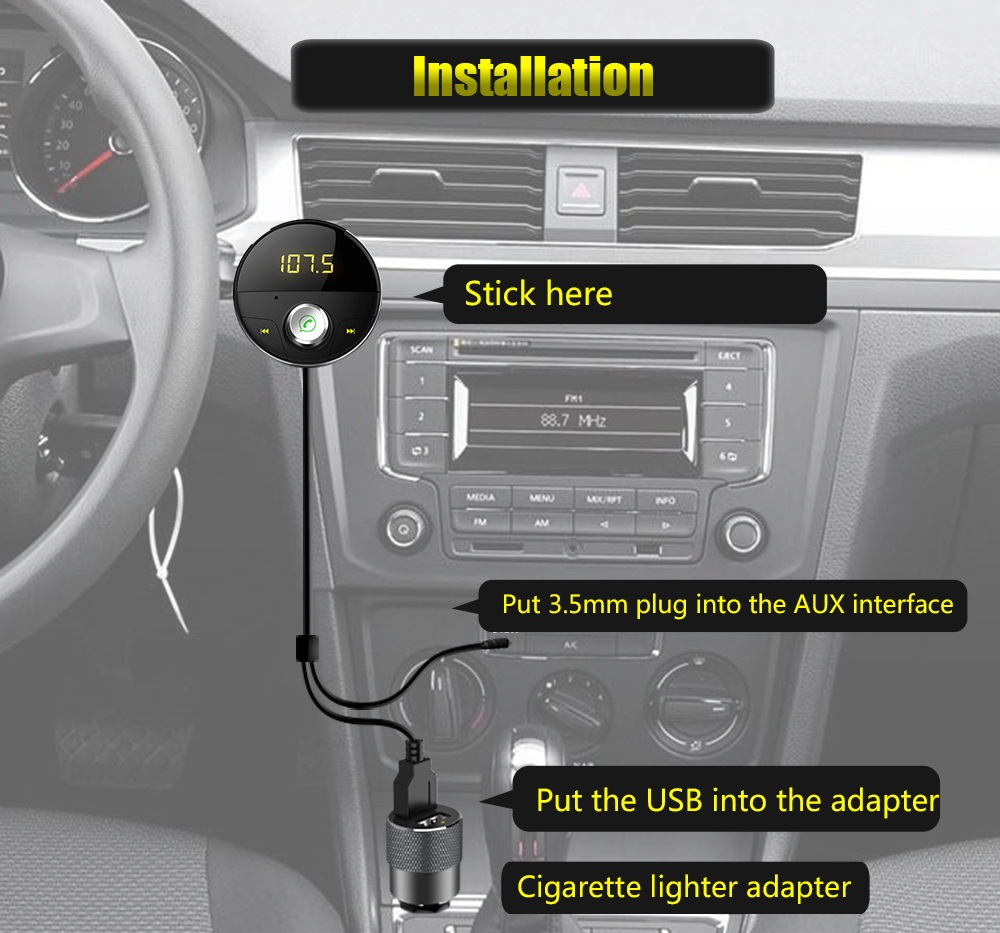 car bluetooth handsfree kit
